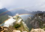 Double rainbow at Machu Pichu