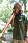 Aboriginal Guide playing DigerieDoo