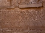 Carvings depicting Sports – Medinet Habu built by Ramses III