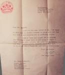 Dali Lham Letter1961-2-1