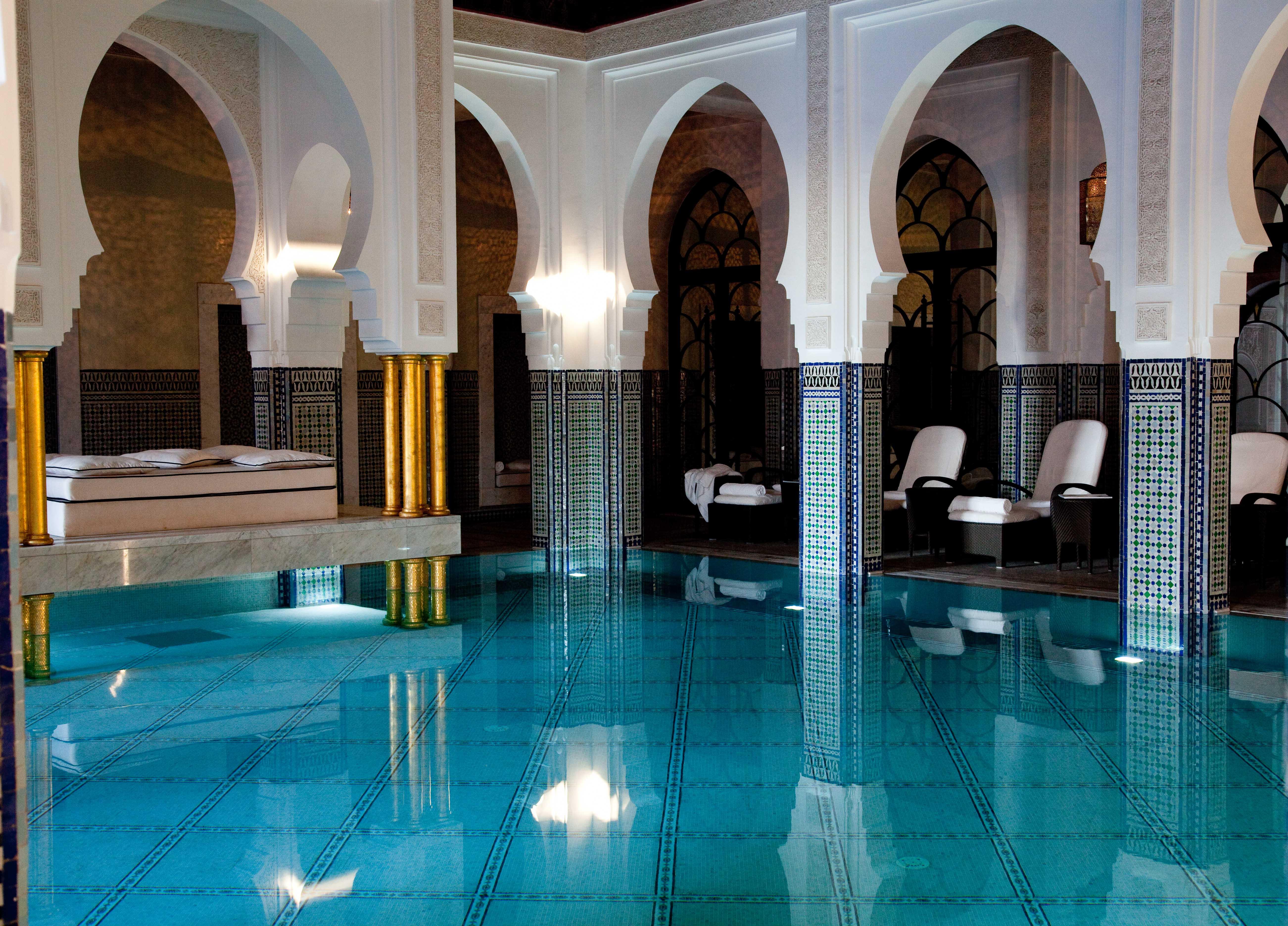 Salle De Bain Decoration Carrelage : La Mamounia Spa Marrakech