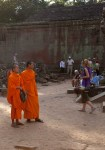 Monks at Ta ProhmTemple