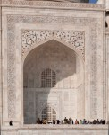 Taj Tomb Entrance