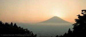 Mt.Fugi at sunset